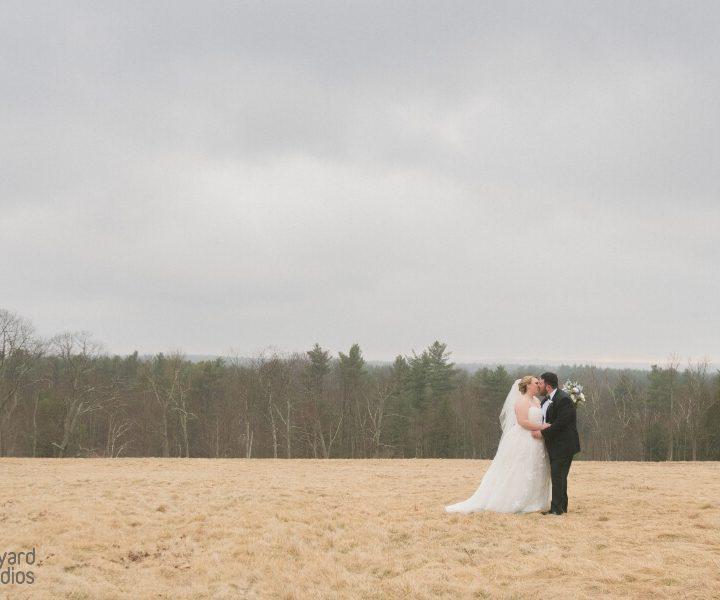 NH Wedding Photographer / Millyard Studios / Harrington Farm / Amanda & Al