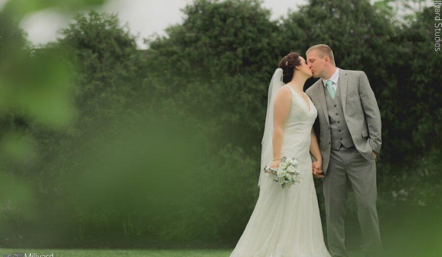 NH Wedding Photographer / Millyard Studios / Birch Wood Vineyards / Ashleigh & Tim