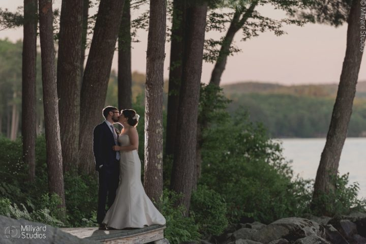 NH Wedding Photographer / Millyard Studios / Laughing Loon / Christina and Paul