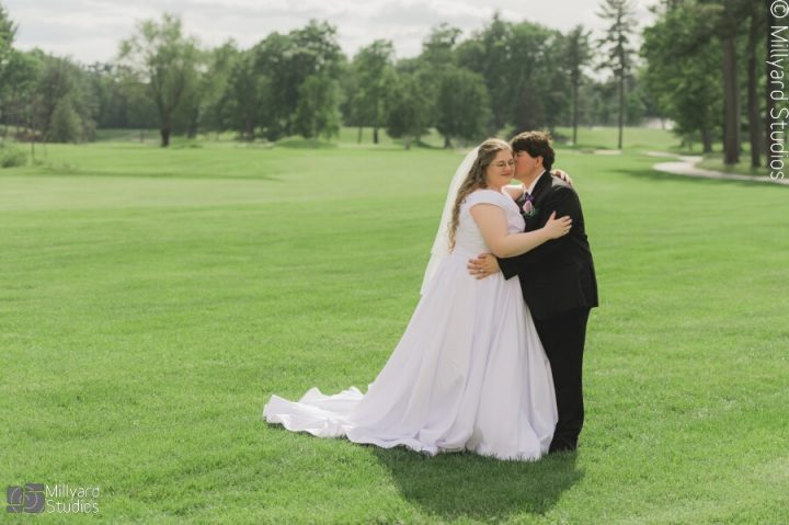 NH Wedding Photographer / Millyard Studios / Manchester Country Club / Meredith & David