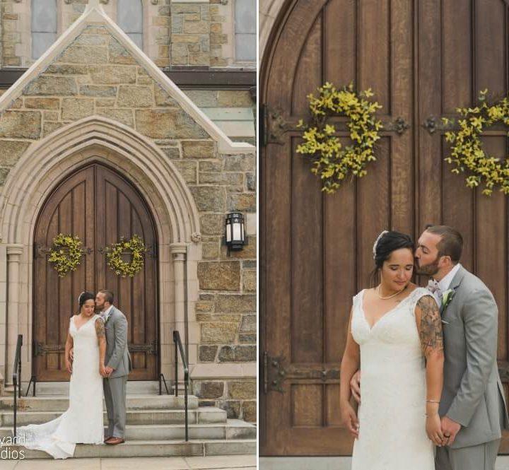 NH Wedding Photographer / Millyard Studios / Salvatore's / Eva & Dylan