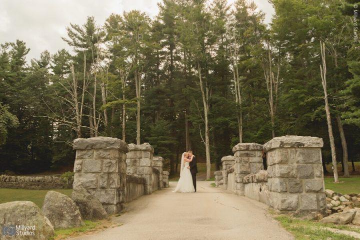NH Wedding Photographer / Millyard Studios Jen & Christian / Searles Castle