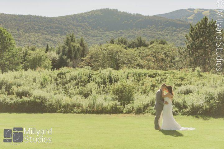 NH Wedding Photographer / Millyard Studios / Waterville Valley Resort / Hannah & Stephen