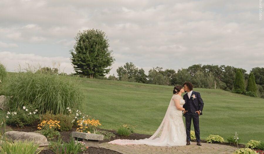 NH Wedding Photographer / Millyard Studios / Atkinson Country Club / Wilmary & Alvaro