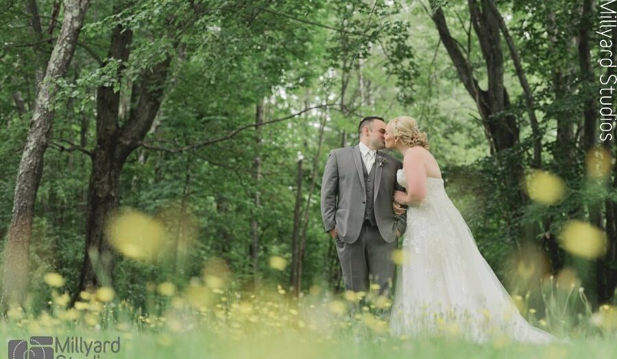 NH Wedding Photographer / Milllyard Studios / Andover Barn at Highland Lake / Sarah & CJ