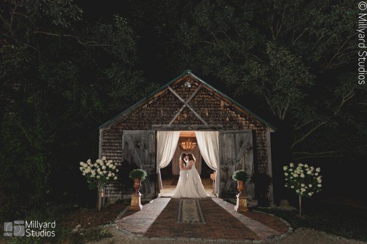 NH Wedding Photographer / Millyard Studios / The Preserve at Chocoura / Megan & Katie