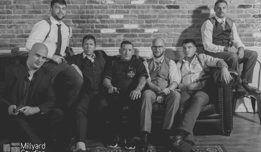 Bostonian Barbershop/ Groom Prep/ Millyard Studios