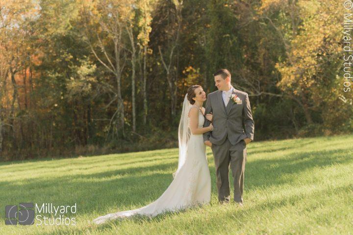 NH Wedding Photographer / Milllyard Studios / LaBelle Winery / Amanda & Josh