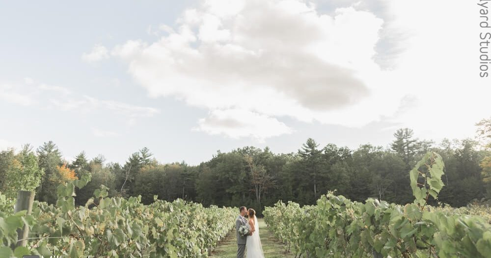NH Wedding Photographer / Millyard Studios / Zorvino Vineyards / Caitlin & Rob