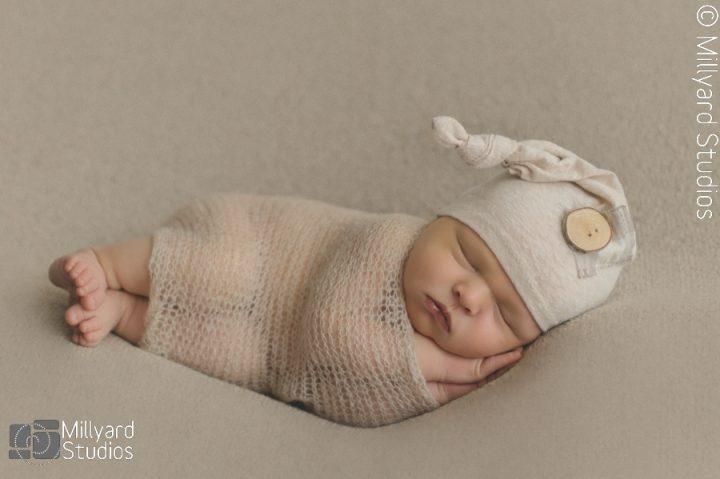 Newborn Photographer NH Millyard Studios