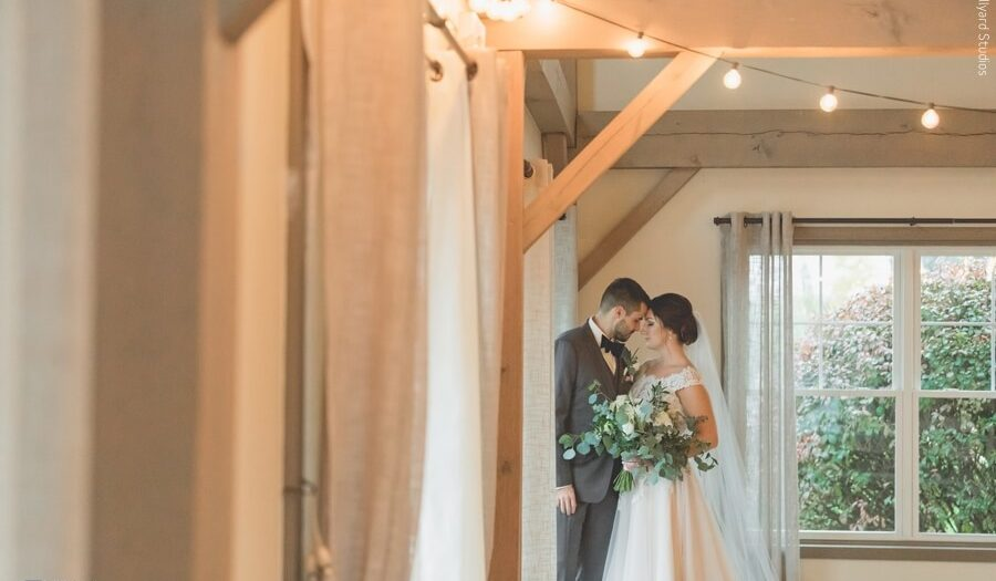 MA Wedding Photographer / Millyard Studios / The Barn at Wight Farm / Sarah & AJ