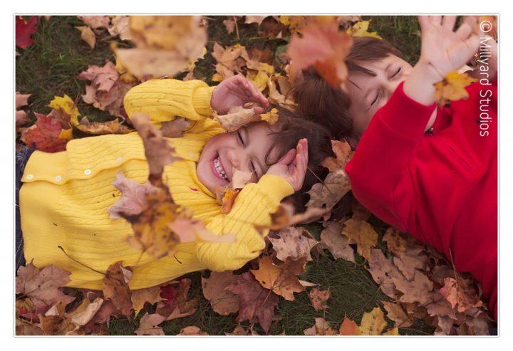 New Hampshire Family Photographer/ Fall Photos/ Millyard Studios