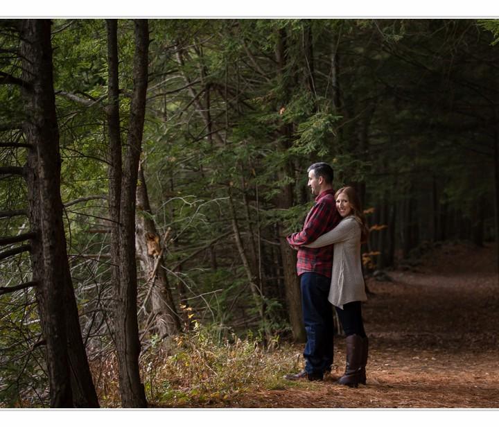 NH Wedding Photographers / Millyard Studios / Jennifer & Mike / Engagement Session