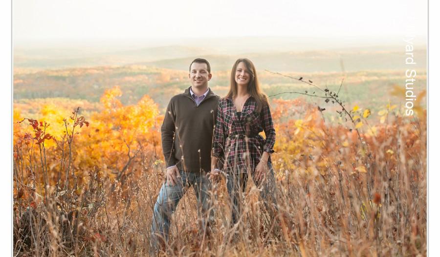 NH Wedding Photographers / Millyard Studios / Danielle & Jordan / Engagement Session