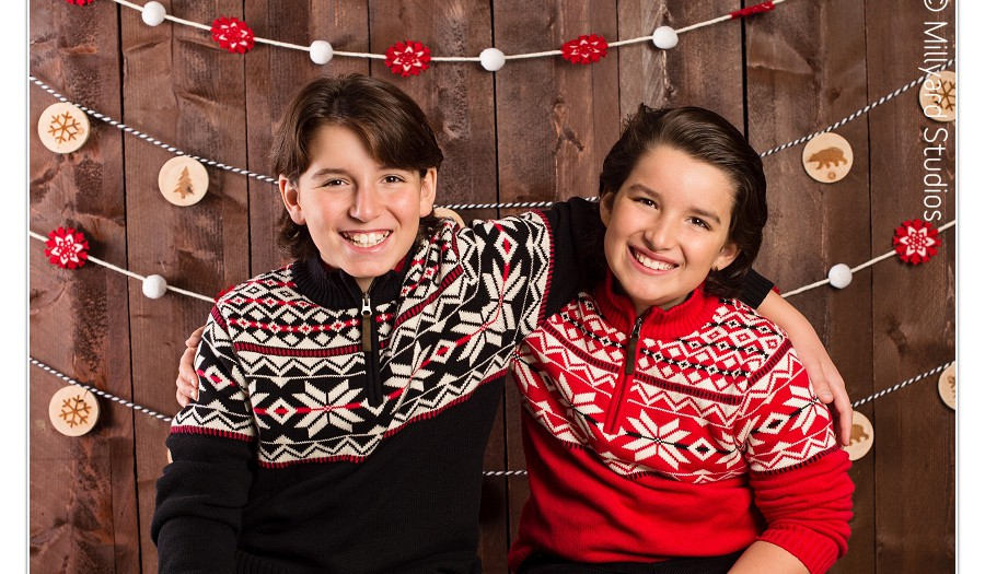 Holiday Photos in New Hampshire/ Millyard Studios