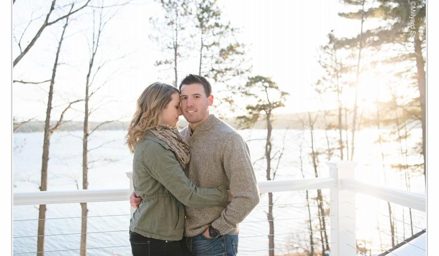 NH Wedding Photographer / Millyard Studios / Meredith & Justin