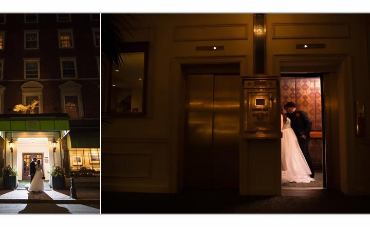 Wedding Photographer MA / Millyard Studios / Hawthorne Hotel / Christina & Michael