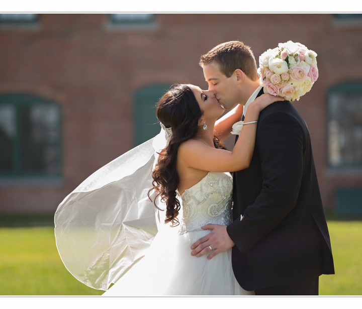 NH Wedding Photographers / Millyard Studios / Portsmouth Harbor Events / Amy and Bryant