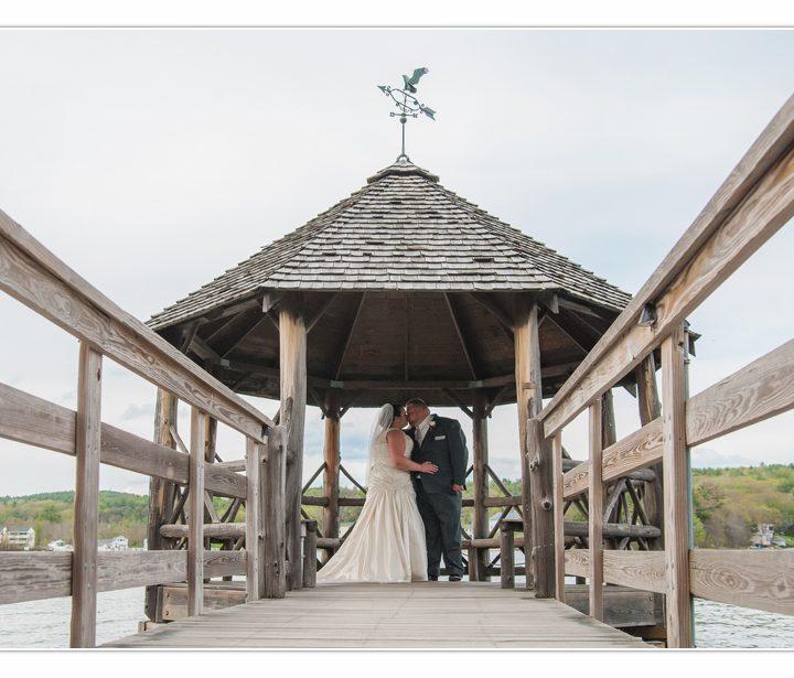 NH Wedding Photographer / Millyard Studios / Haley & Mark / Church Landing