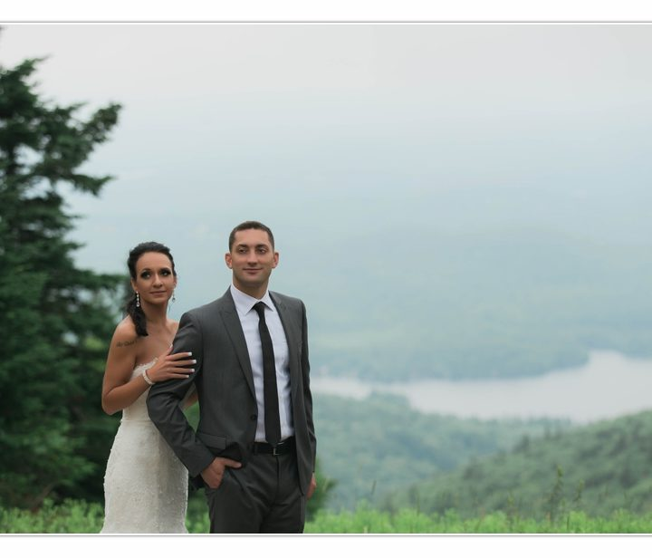 NH Wedding Photographer / Millyard Studios / Mount Sunapee Resort / Elan & Mike
