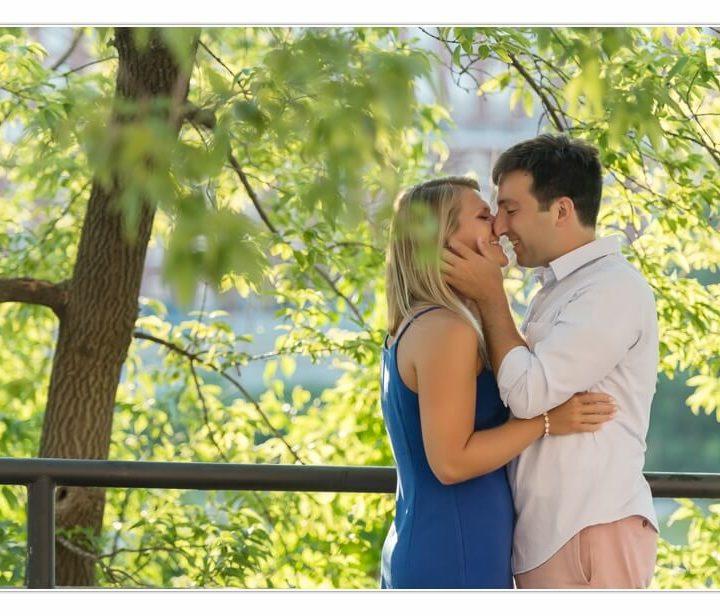 Engagement Photographer NH / Millyard Studios / Jillian & Brian