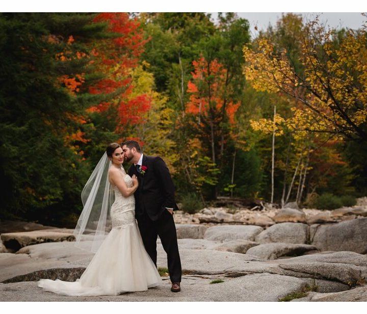 NH Wedding Photographer / Millyard Studios / Kacie & Jimmy / Woodstock Inn, Station & Brewery