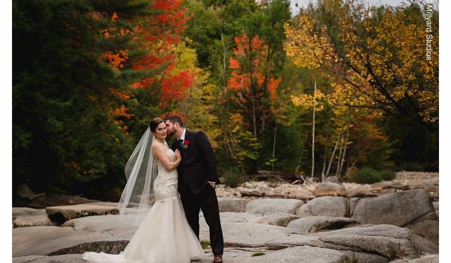 New England Fall Weddings Nh Wedding Photographer Millyard Studios Kacie Jimmy Woodstock Inn Station