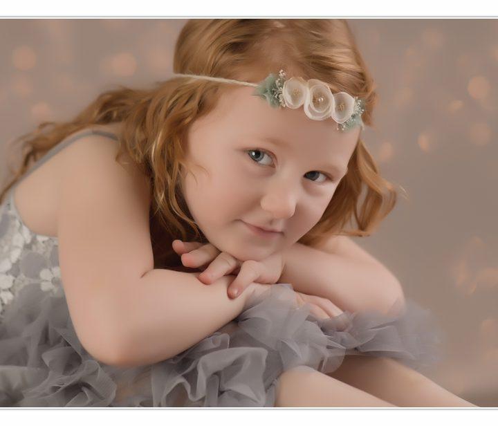 Puffball Princess/ Children Photographer/ Millyard Studios