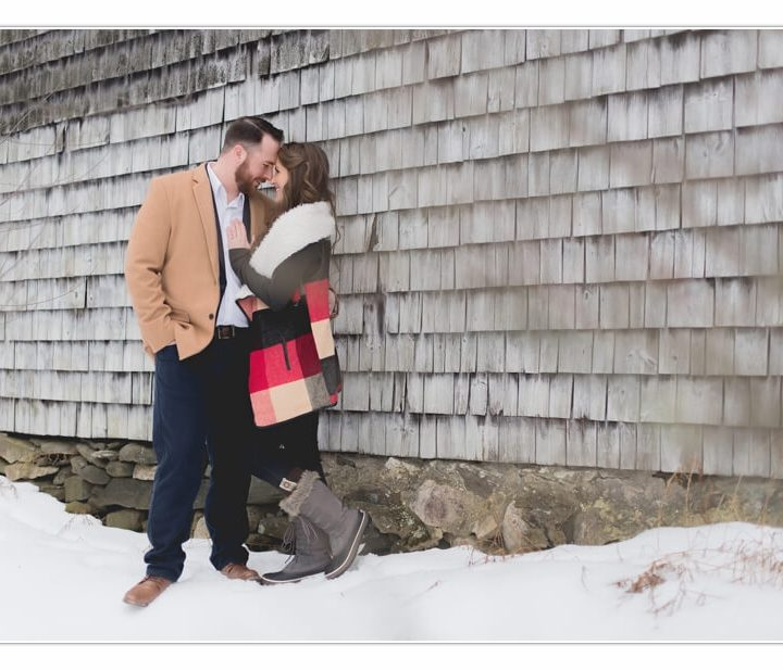 Engagement Photographer NH / Millyard Studios / Jamie & Stephen