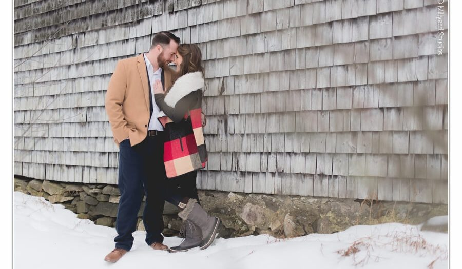 Engagement Photographer NH / Millyard Studios / Jamie & Stephen