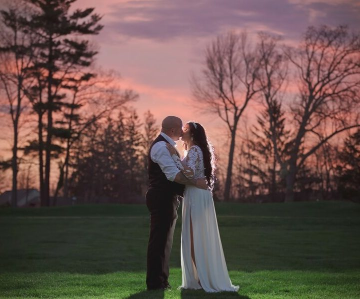 NH Wedding Photographer / Millyard Studios / Armidys & Ed / Manchester Country Club