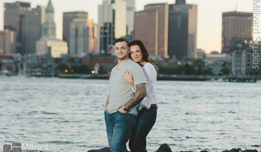 NH Engagement Photographer / Boston / Millyard Studios