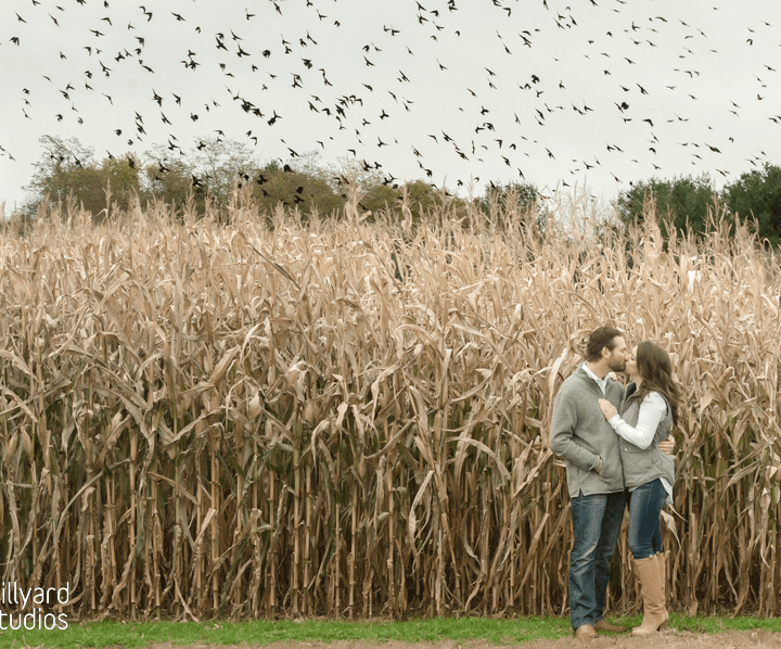 Engagement Photographer NH/ Millyard Studios/ Fall Session