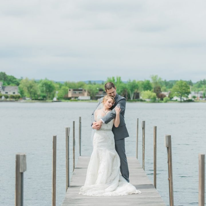 NH Wedding Photographer / Millyard Studios / Church Landing / Julie & Nick