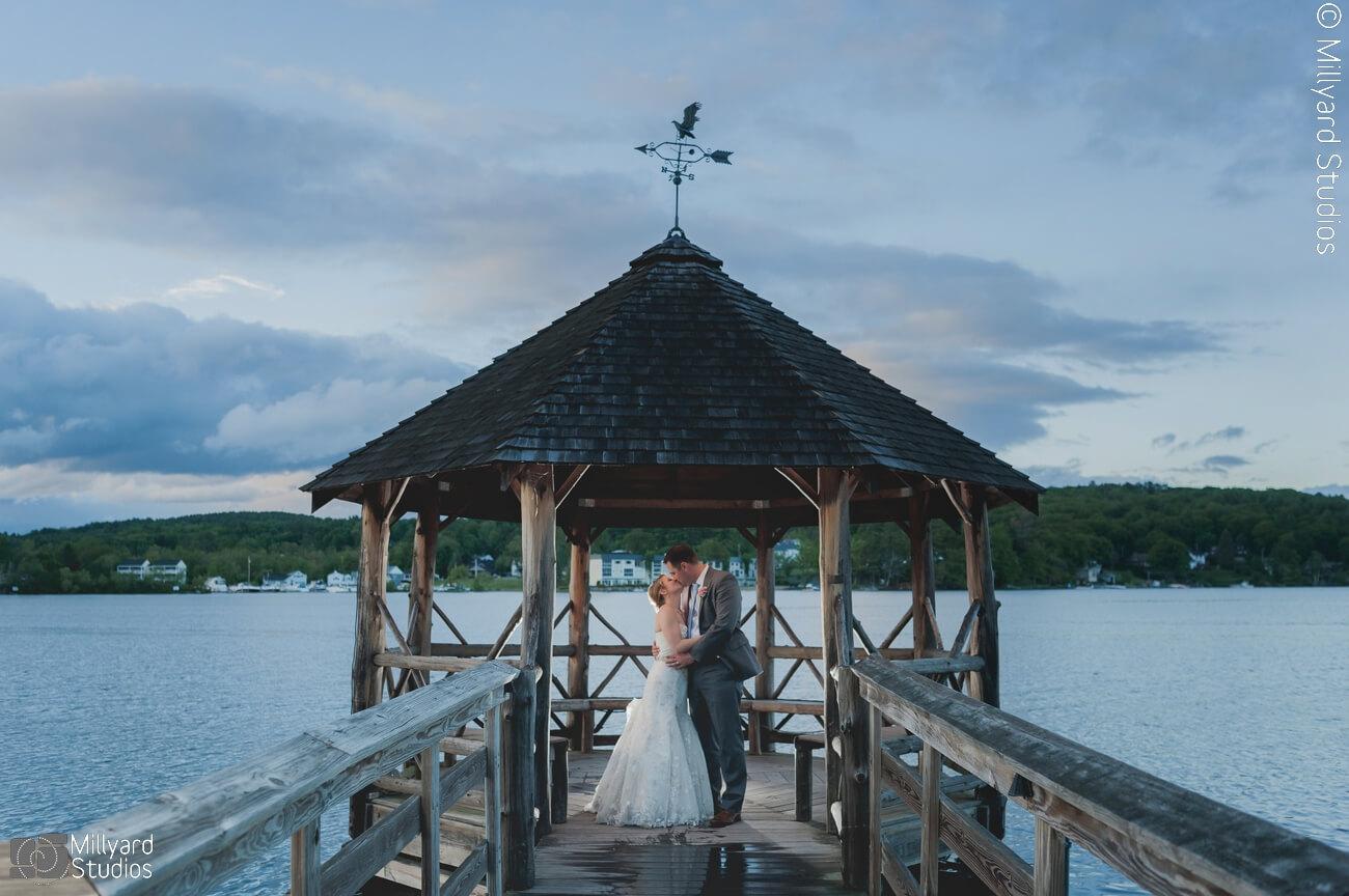 NH Wedding Photographer / Millyard Studios / Church Landing / Julie