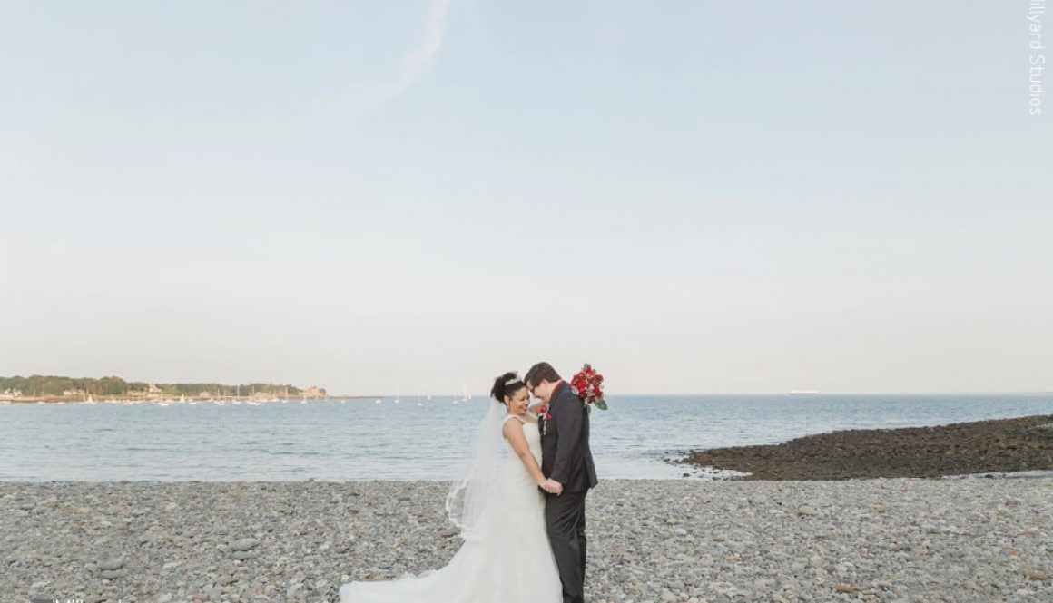 Beautiful New England Beach Wedding