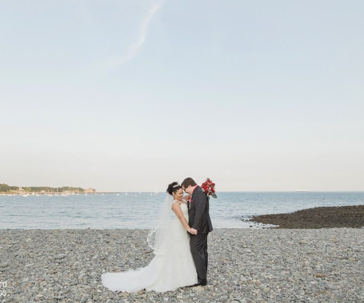 NH Wedding Photographer | Millyard Studios | The Oceanview | Laura & Ian