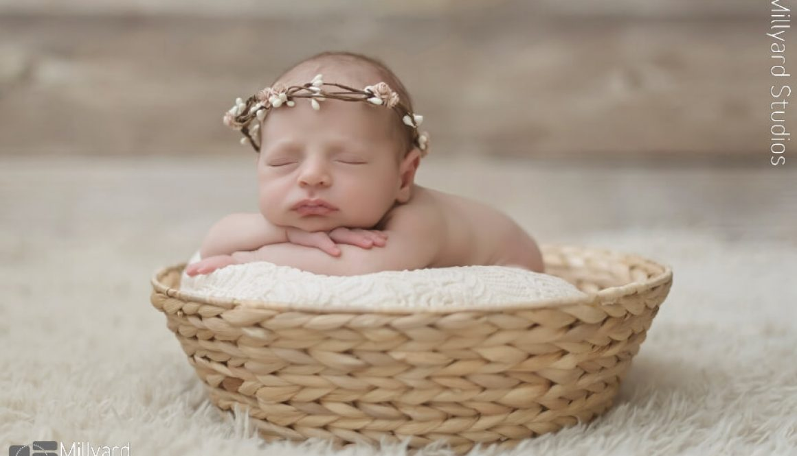 Newborn Photographer NH Baby girl session 4