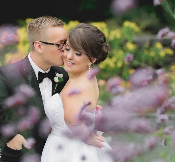NH Wedding Photographer / Millyard Studios / Tower Hill Botanical Garden / Elizabeth & Alex