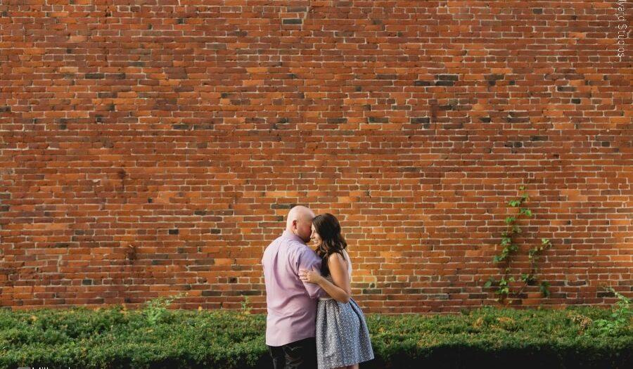 Downtown, Seacoast Engagement Session | Lauren & Padraic