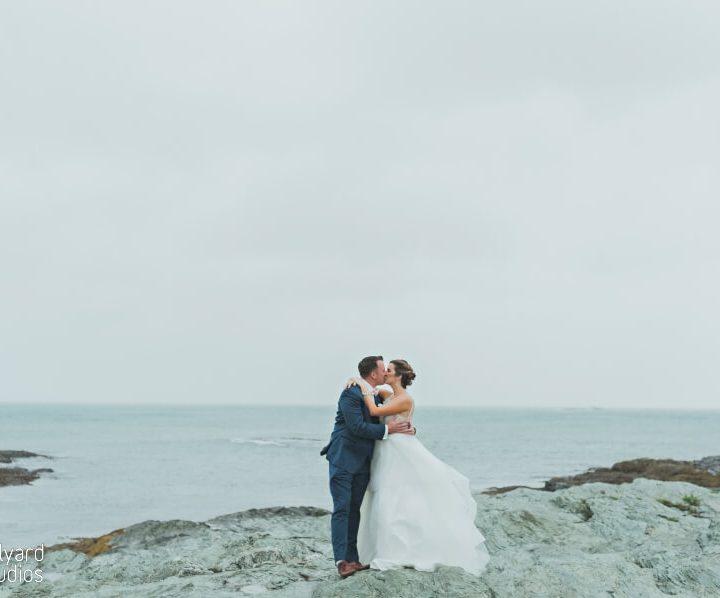 New England Wedding Photographer / Millyard Studios / Belle Mer / Kathleen & Ben