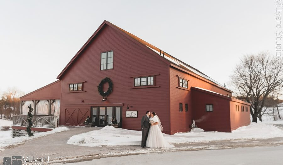 NH Wedding Photographer / Millyard Studios / The Barn at Gibbet Hill / Elizabeth & Christopher