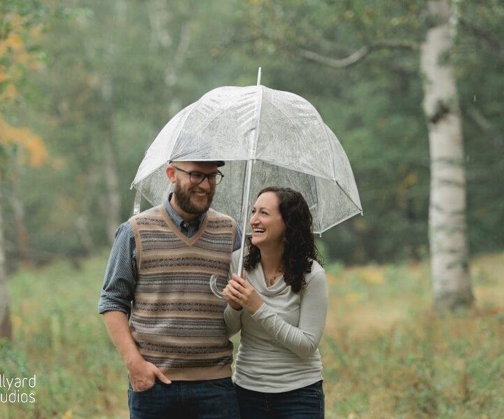 Engagement Photographer NH / Millyard Studios / Erica & William