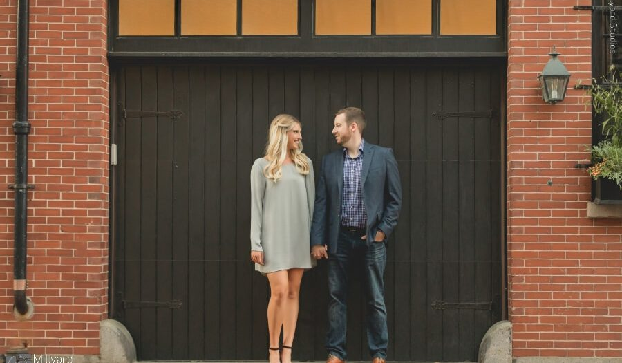 Engagement Photography MA / NH Engagement Photographer / Millyard Studios / Kate & Judd