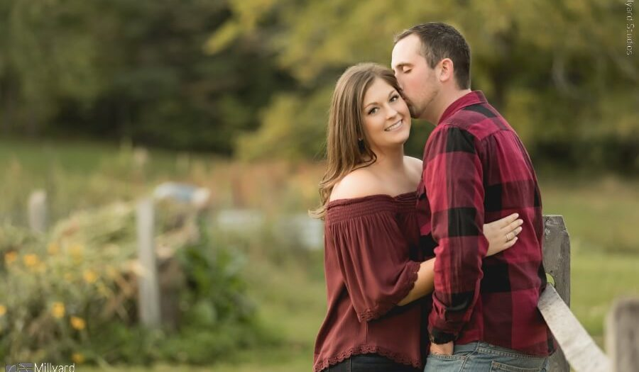 Engagement Session NH / Michelle & Matthew / Millyard Studios