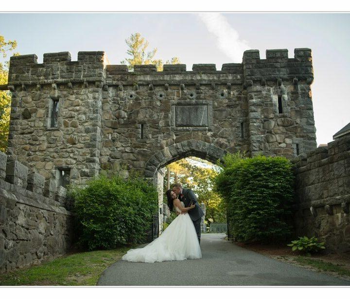NH Wedding Photographer / Millyard Studios / Searles Castle / Nicole & Max