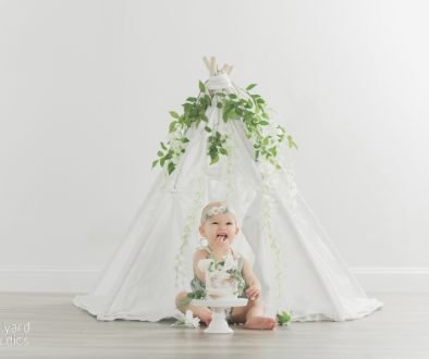 NH baby photographer one year session Milyard Studios 8