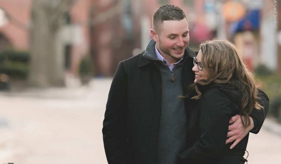 NH Engagement Photographer / Millyard Studios / Sarah & Daniel