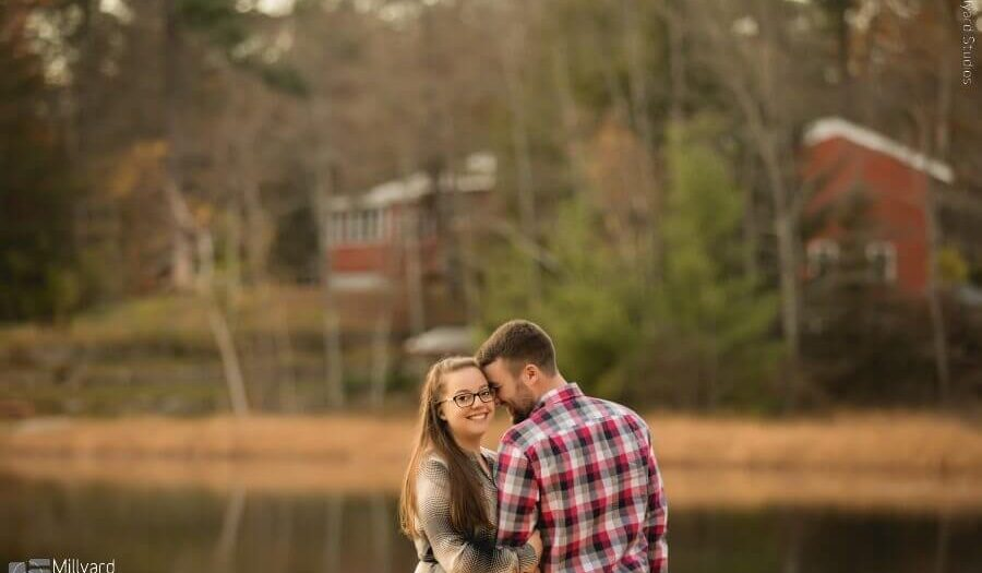 NH engagement session / Millyard Studios / Kara & Nick
