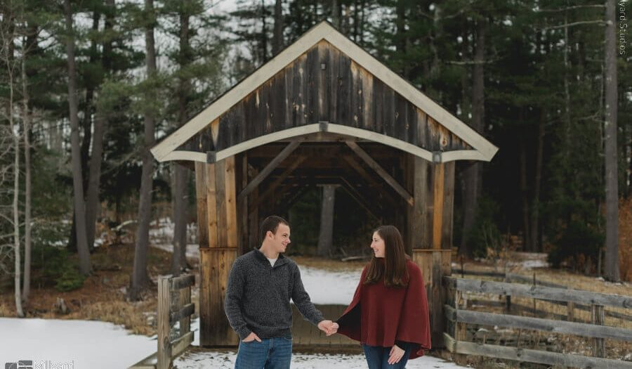 NH Engagement Session / Millyard Studios / Rachel & Patrick